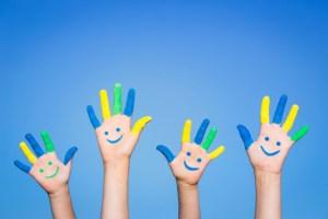 main joie bonheur rentrée stress