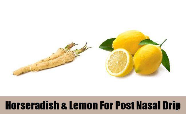 Raifort et citron