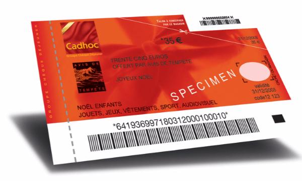 S'offrir au chèque cadhoc permet de générer un grand nombre de nouvelles ventes