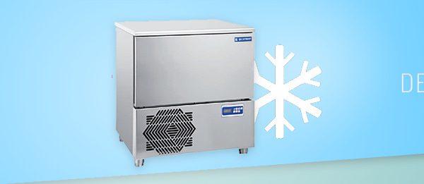 La cellule de refroidissement montre des aptitudes différentes des congélateurs