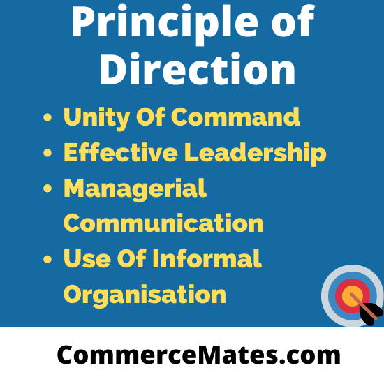Principle of Direction