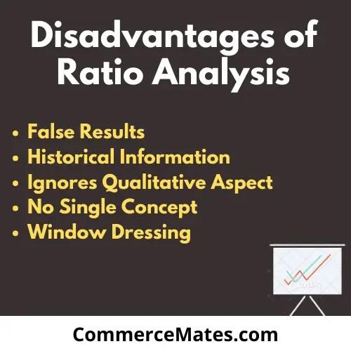 Disadvantages of Ratio Analysis