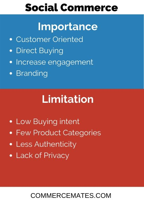 Limitation and Importance of Social Commerce