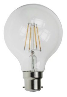 Filament LED Globe Bulbs