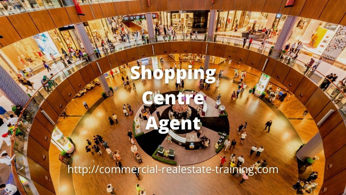 retail shopping mall and people