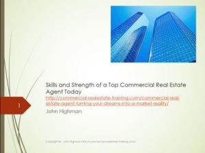 PowerPoint Presentation for Commercial Real Estate Agents about Skill Development