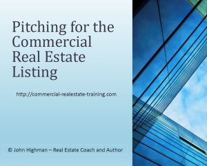 free report on listing pitch in commercial real estate brokerage