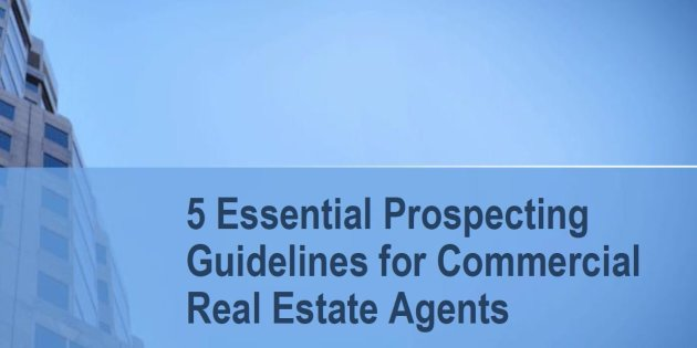 Real Estate Prospecting Guidelines Special Report