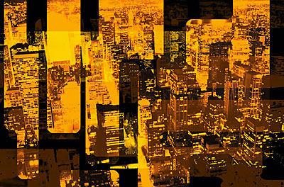 golden city buildings
