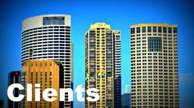 city buildings on skyline