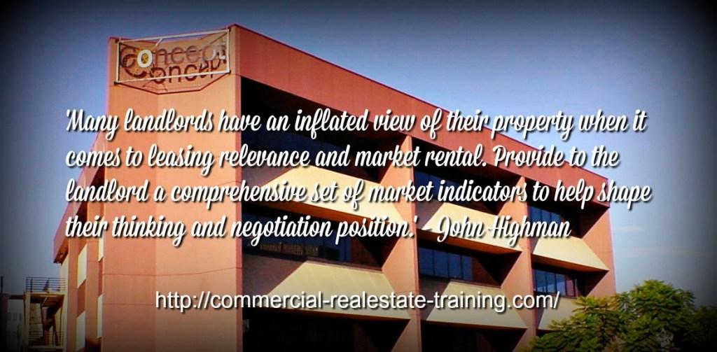 landlords in commercial real estate brokerage