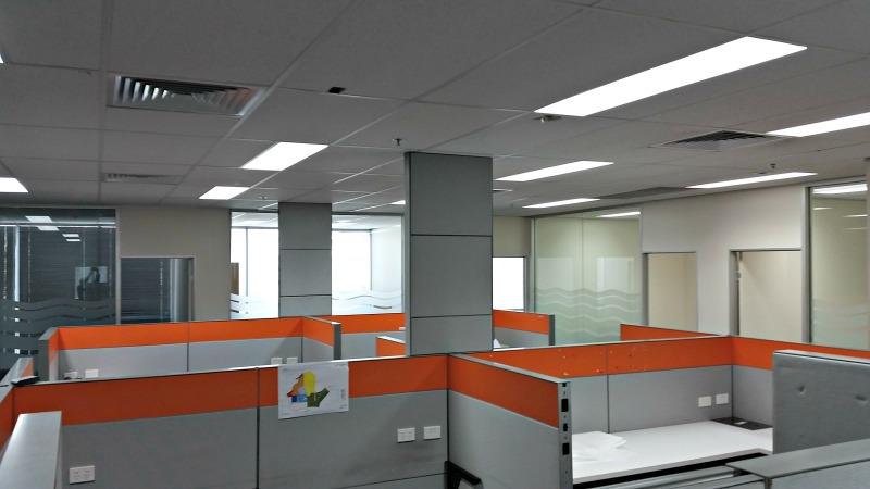 inside of office tenancy
