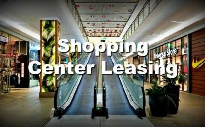 escalator in retail shopping center