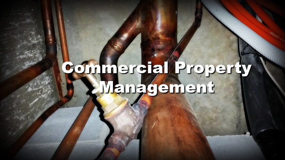 Plumbing and taps in commercial property management