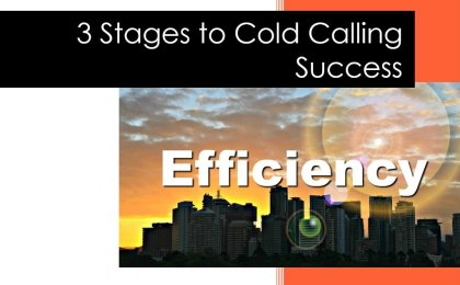 city scene book cover showing cold call efficency