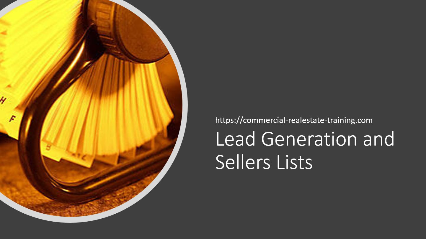 Take Your Business to the Next Level With a Sellers List