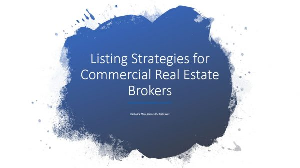 How to Create a Checklist Approach to Commercial Real Estate Listing