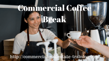 commercial real estate coffee break