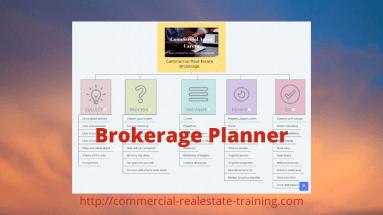 commercial real estate brokerage planner