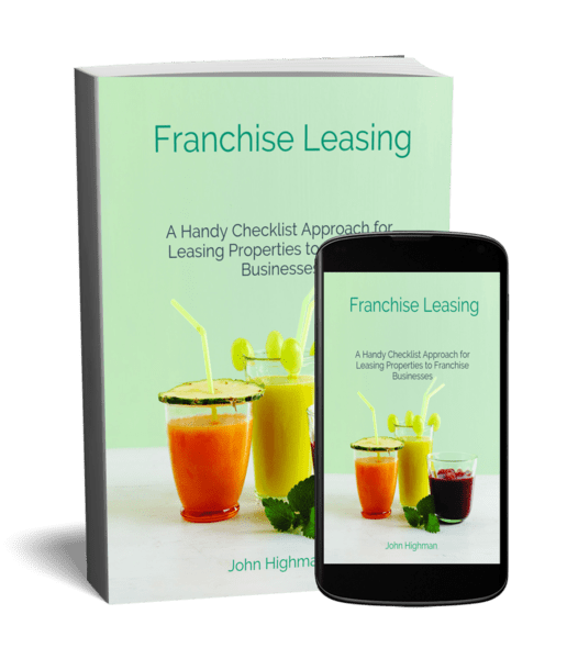 franchise leasing checklist for real estate agents