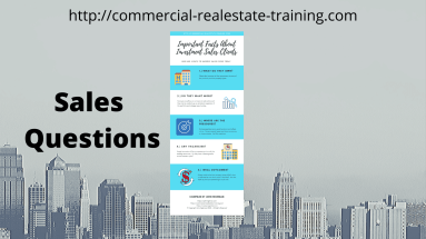sales questions in commercial real estate