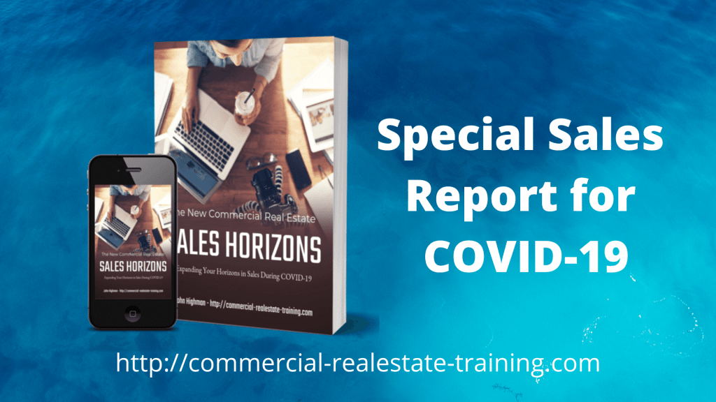 book covers of sales report for commercial real estate