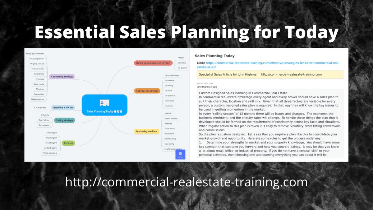 sales plan chart by John Highman