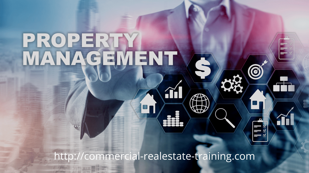 man in property management