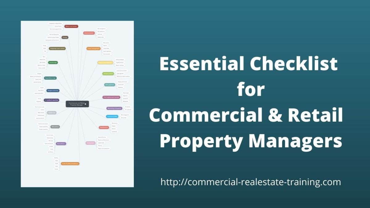 chart for commercial and retail property managers