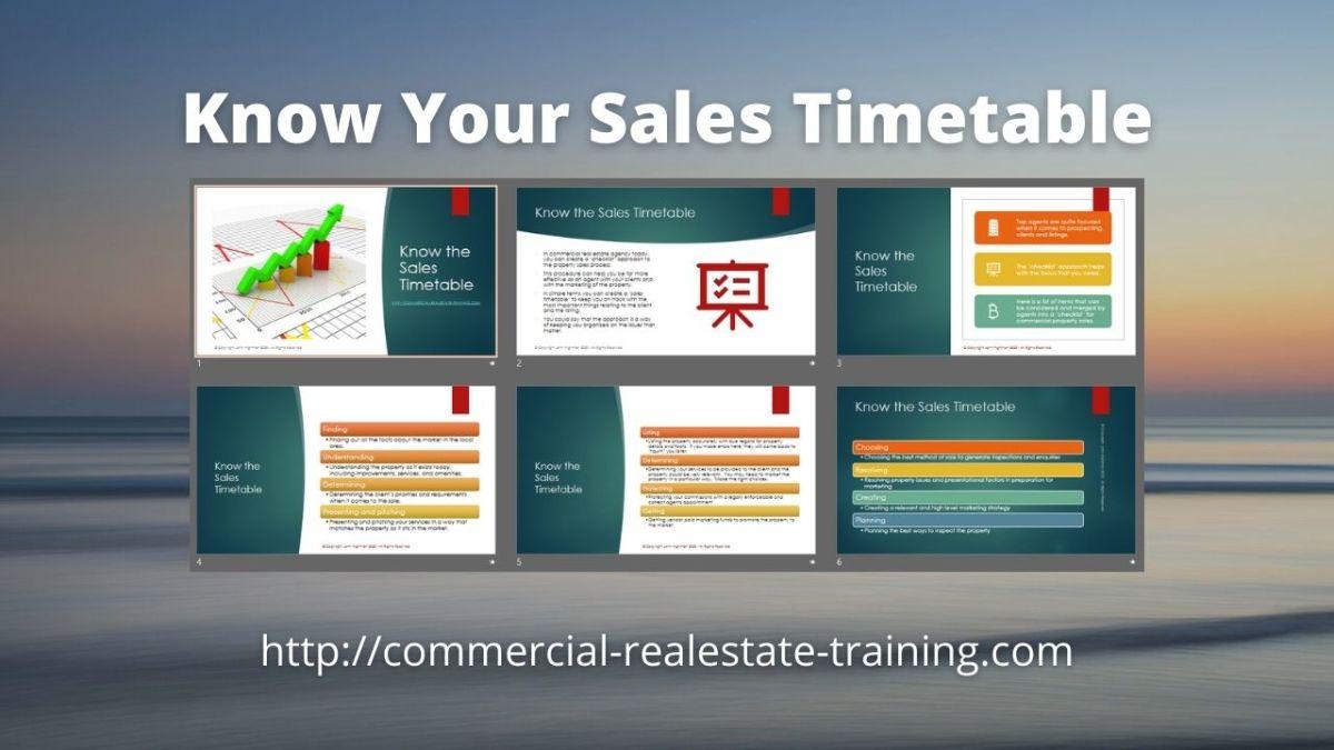 slide deck of sales ideas