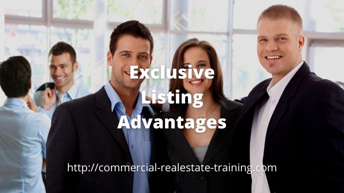 real estate team standing together