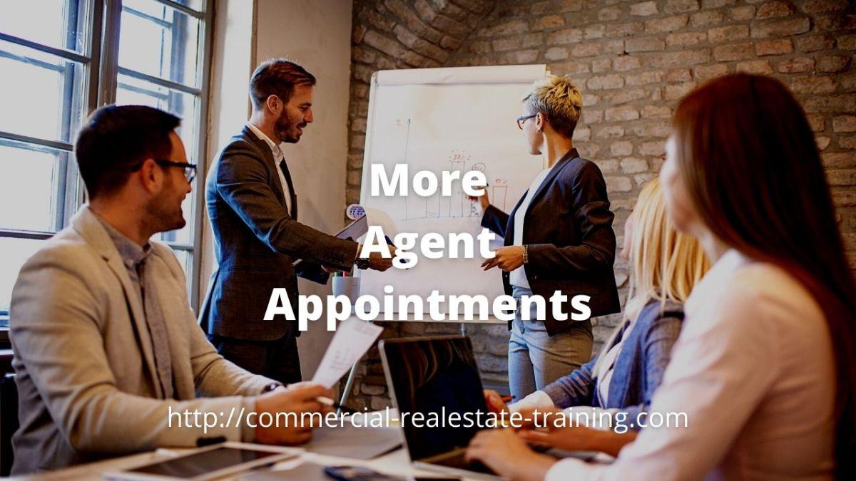 real estate team in boardroom