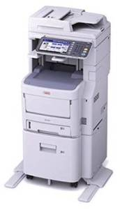 Okidata Color Copier MC780fx $4759