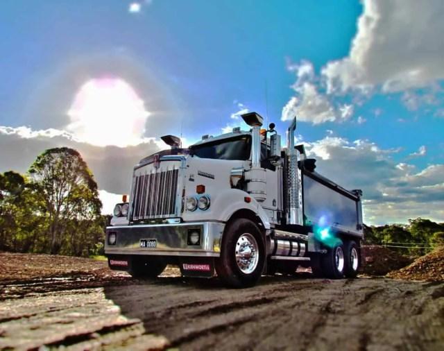 Class 3 dump truck