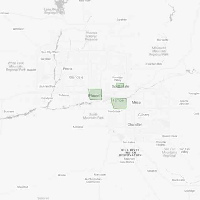 Busiest Areas Phoenix