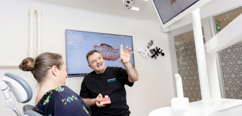 Dental specialist consultation medical marketing photography