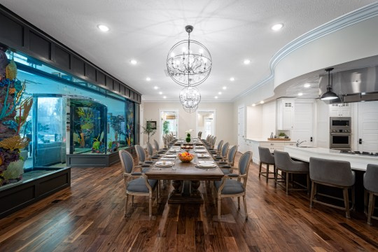 Dining Area - The Grand Assisted Living Center