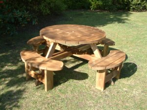 Excalibur Picnic Table