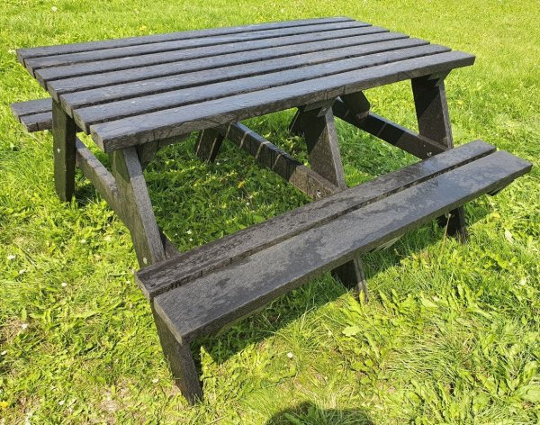 Rectangular Recycled Plastic Composite Picnic Tables