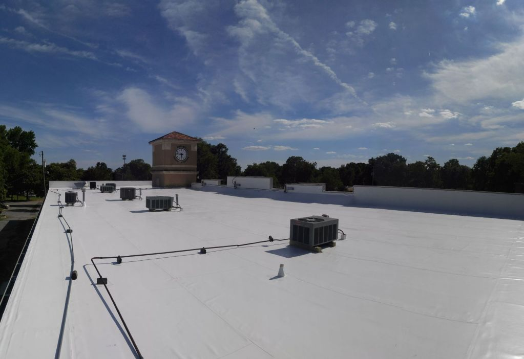 commercial roofing flat roof contractors