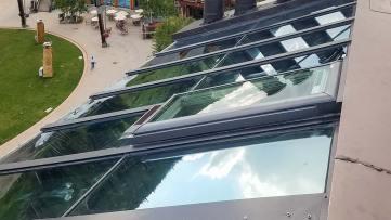 re-glaze skylight 23778-160848