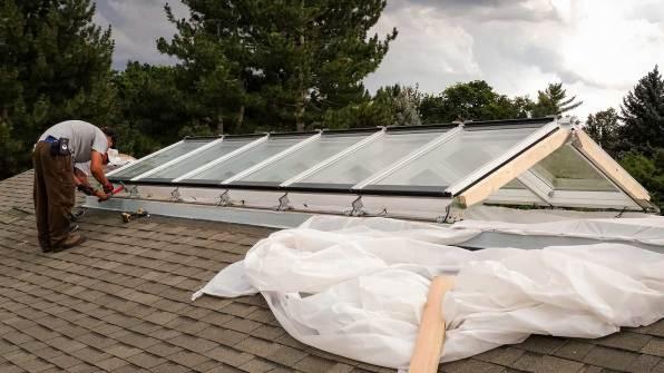 velux modular skylights 24450-170434400