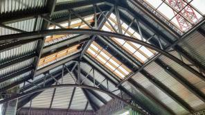 Monarch Casino skylights glass installation 25696-163459