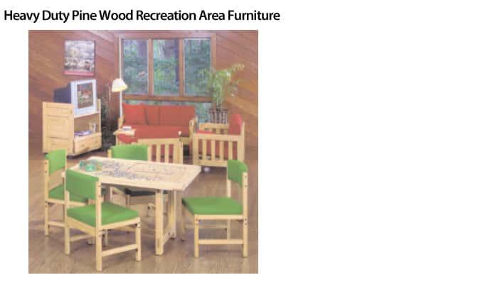 Heavy-Duty-Wood-Furniture-Heavy-Duty-Pine-Wood-Recreation-Area-Furniture