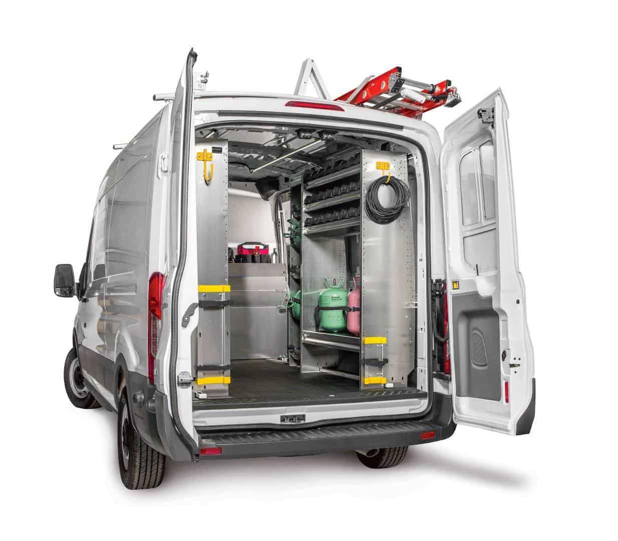Ranger Design Custom Van Shelving Commercial Van Solutions Llc