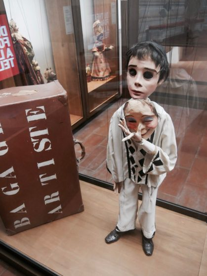 Une marionnette du musée