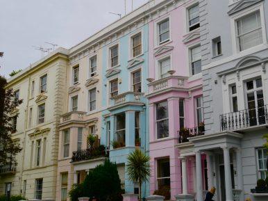 Les maisons pastels