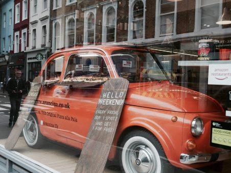 Pizzeria branchée de Notting Hill