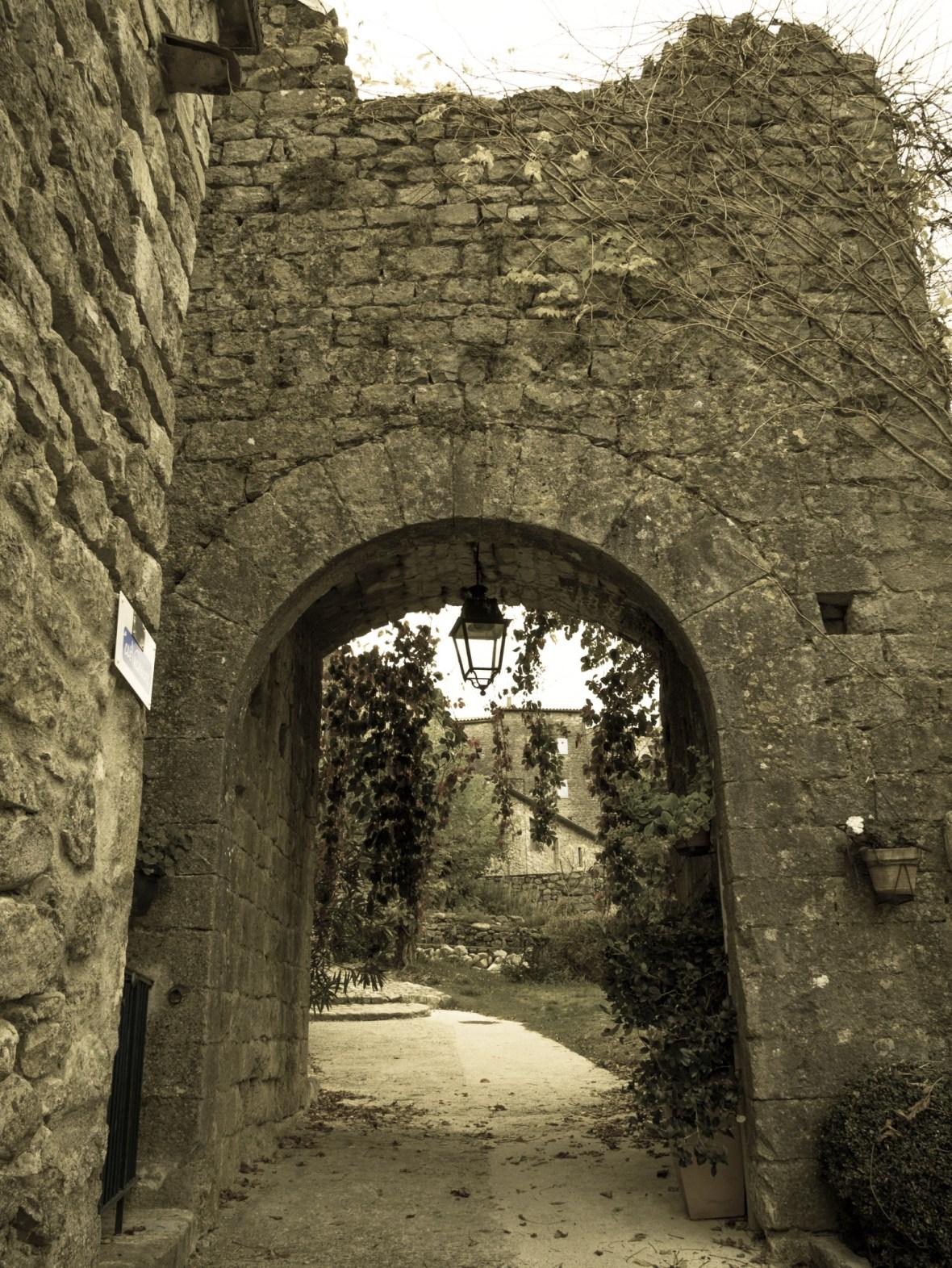 Une entrée de Balazuc
