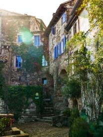Une maison en pierre